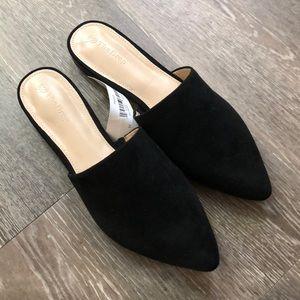 Shoes - Black mules 8.5